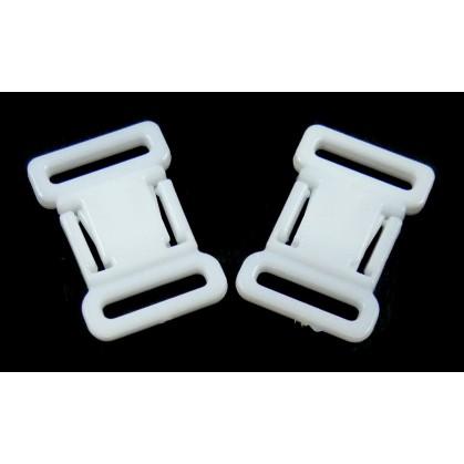 boucle carrée 12mm x2 accessoires soutien gorge