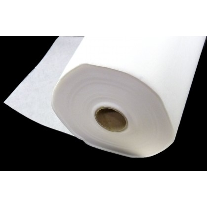 renfort cantonnière thermocollant blanc au mètre