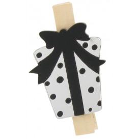 9 pinces à linge miroir paquet cadeau