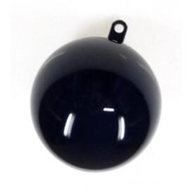 boule plastique cristal noir 50mm