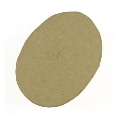 boite ovale en papier mâché