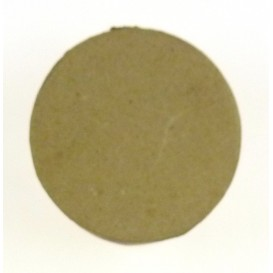 boite ronde en papier mâché