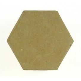 boite hexagonale en papier mâché