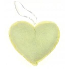 coeur en feutrine écru 135x135mm
