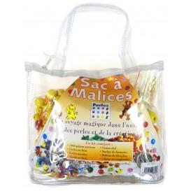 kit perles box sac à malices perle orange