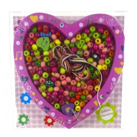 kit perles box tabloperles coeur