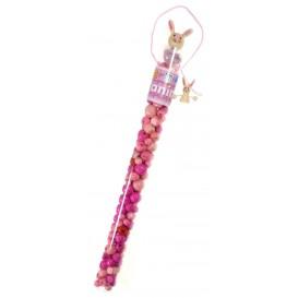 kit perles box tube lapin perle rose