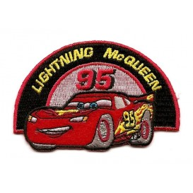 écusson disney cars mcqueen thermocollant n°3
