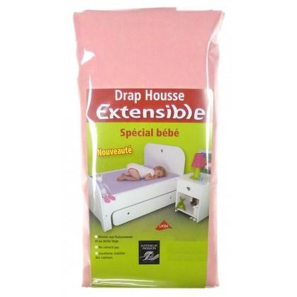 drap housse extensible 60x 120 140cm. Black Bedroom Furniture Sets. Home Design Ideas