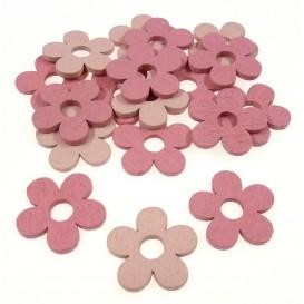 18 formes plates fleurs en bois