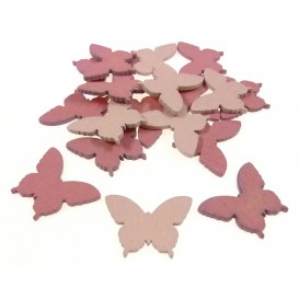 18 formes plates papillons en bois