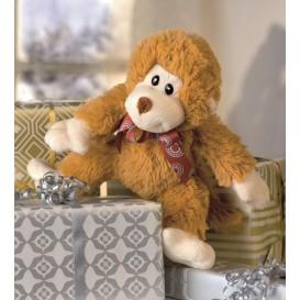 kit peluche à rembourrer singe brun 16cm
