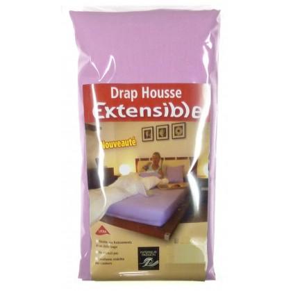 drap housse extensible 90x 190 200cm. Black Bedroom Furniture Sets. Home Design Ideas