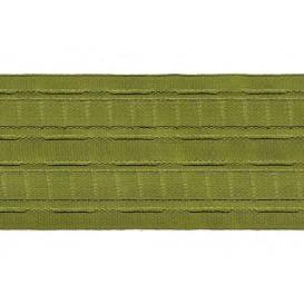 ruban fronceur vert 65mm