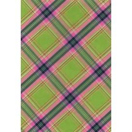 feuille décopatch écossais vert