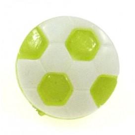 bouton enfant fantaisie ballon de foot 13mm