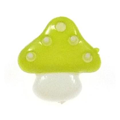 bouton enfant fantaisie champignon 15mm