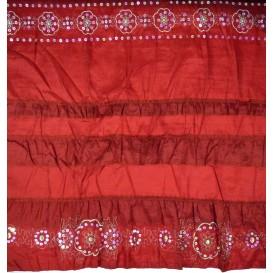 tissu taffeta brodeaux paillettes largeur 155cm au mètre