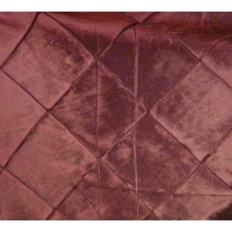 tissu taffetas bordeaux carreaux largeur 145cm x 50cm. Black Bedroom Furniture Sets. Home Design Ideas