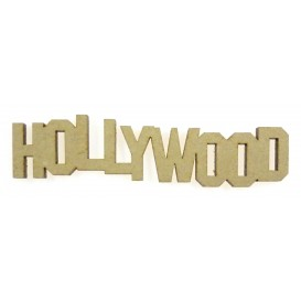 mot en bois hollywood