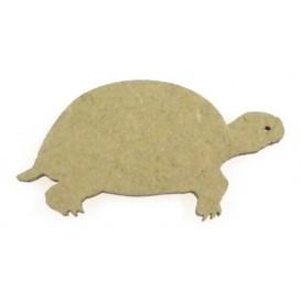 sujet en bois tortue