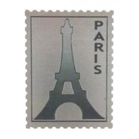 timbre Tour Eiffel en soft métal