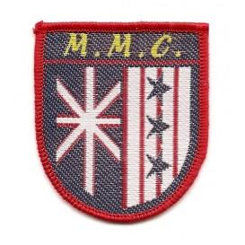 écusson blason MMC à coudre