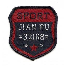 écusson blason sport jian fu à coudre
