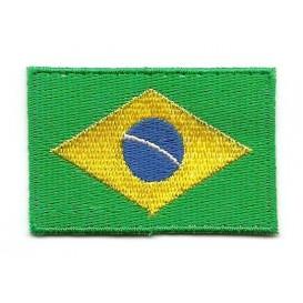 écusson drapeau bresilien thermocollant