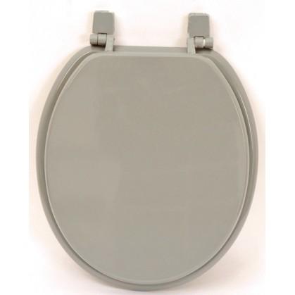 Abattant de wc en bois gris - Abattant wc taille non standard ...