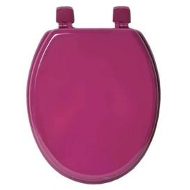 abattant de WC en bois violet